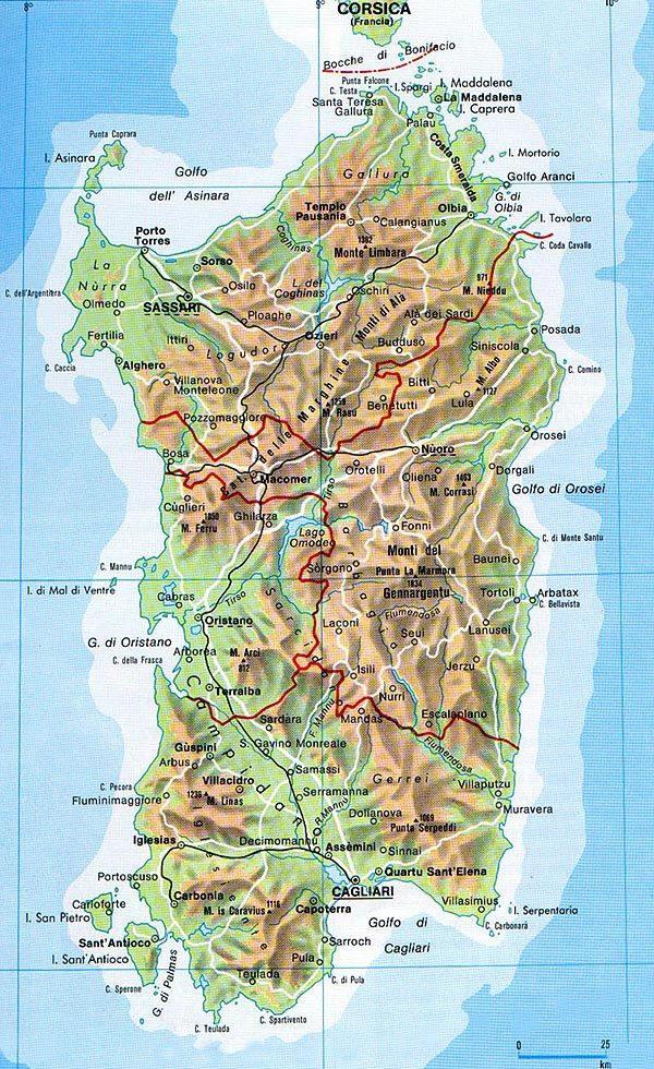 informazioni sulla regione sardegna
